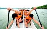 组图:聚焦武汉国际名校赛艇挑战赛
