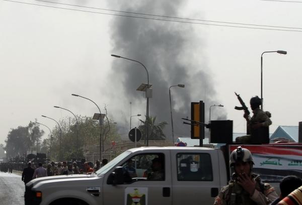 伊拉克首都14日发生3起炸弹袭击 致15死30伤
