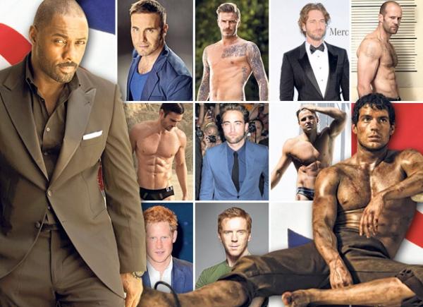 小贝杰拉德入选2013英伦最性感男星