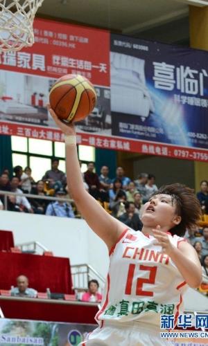国际青年女子篮球挑战赛:中国胜澳大利亚