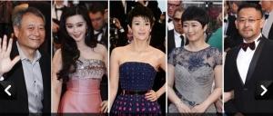 戛纳电影节开幕 华语影人红毯扎堆