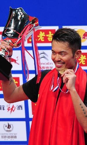 羽毛球世锦赛:李宗伟决胜局因伤退赛 林丹成就五冠王