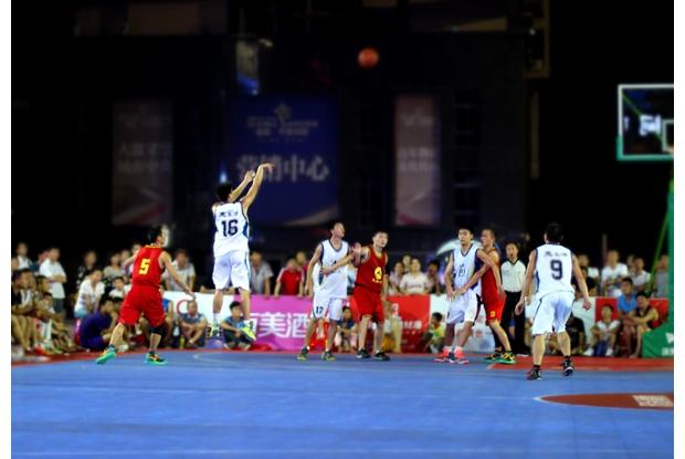 2014随州市男子篮球联赛于上周日开幕