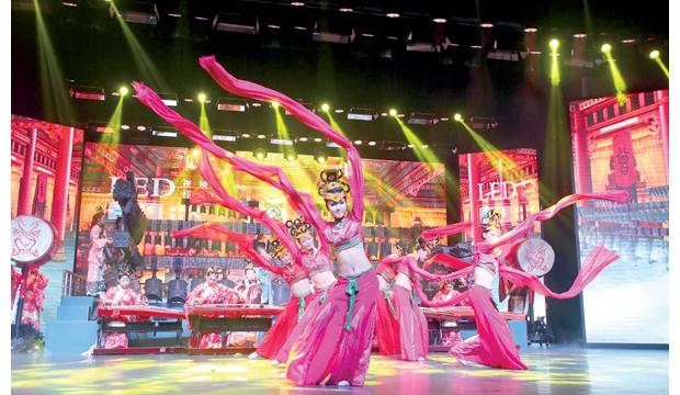 全新的编钟乐舞———曾国盛宴