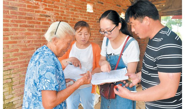 淅河镇对农村合作医疗等10 余种数据进行全面核查