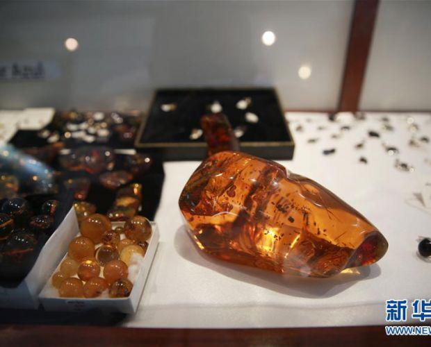 探访多米尼加琥珀博物馆