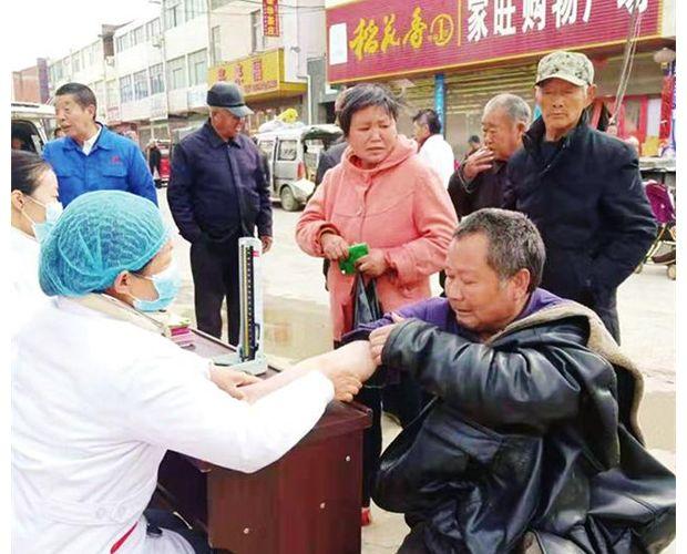 余店镇中心卫生院开展卫生健康志愿服务活动